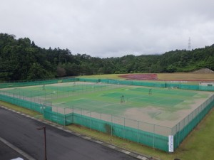 大和町総合運動公園テニスコート   2018年7月 4,067㎡ ◎