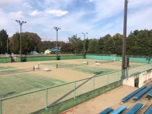 小山市運動公園テニスコート     2019年1月 6,075㎡