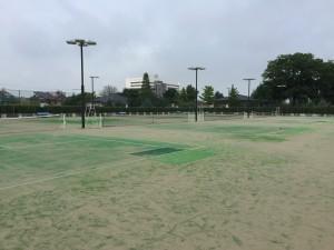 石川県小松市 末広公園テニスコート 2015年7月   4,511㎡ ◎