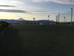 山梨県甲斐市 日本航空高校多目的球技場 2016年2月 4,000㎡
