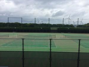 神栖市海浜公園テニスコート     2017年12月 5,480㎡ ◎